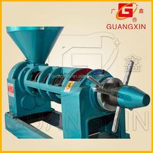 Ex-work Easy operating hot/cold press 6.5T/24hs tea seed oil producer