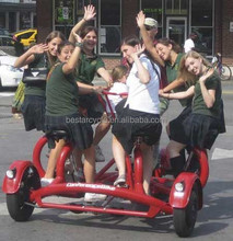 Conference trike surrey bike four wheels bicycle /trike /bike /tour cycle