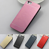 New Arrival Ultra-thin PC Brushed Metal Bumper Mobile Phone Cover Case 4.0 Inch For Iphone 5/5C/5S