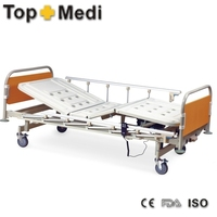 Manual and Electric Two Functions ABS BED Panel Home nurse bed of Hospital Bed for Home Care
