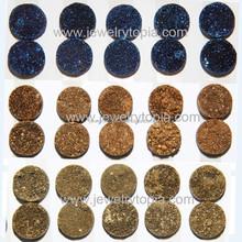 Wholesale Round Druzy Cabochons 8 10 12 14 16 18mm