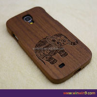 2015 Stylish wooden fashion design laser engraving smart phone case wood factory price back case for iphone