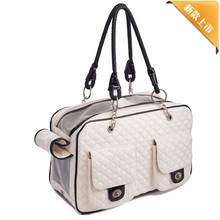 New Design Pet Dog Carrier for Small Dogs Fashion Pet Carrier Leather Carrier for Dogs Animal Bags for Travel