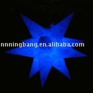 good price Colourful LED Inflatable Star,star decor
