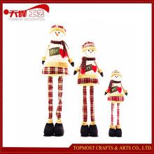 Extendable 145cm Snowman Plush Toys Hot Toys for Christmas 2015