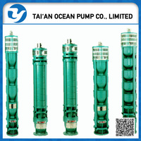 energy saving deep well submersible pump for irragation
