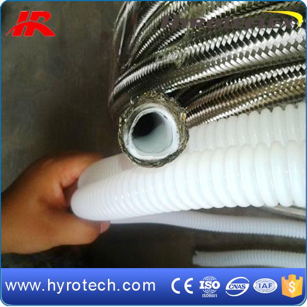 teflon hose.jpg & Ptfe Lined Flexible Hose Stainless Steel Braided Teflon Hose - Buy ...