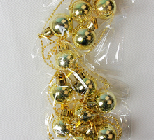 YUWU Caddy SDZS-099 Fantastic Shatterproof Christmas Balls Xmas Tree Hanging Ornament Christmas ornaments