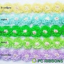 Factory manufacture diamond trims ribbon