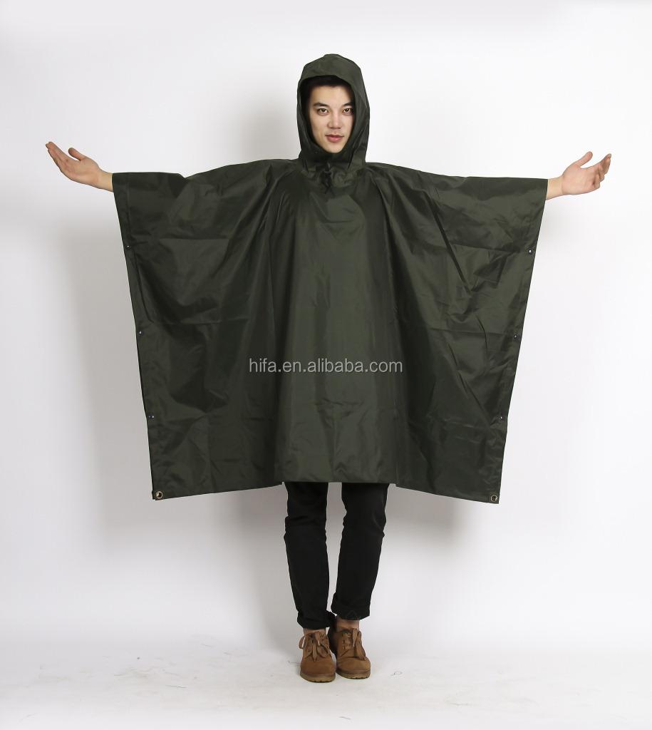 army green rain poncho.jpg