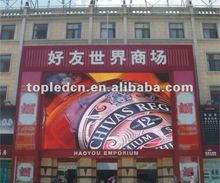 alibaba express portable P10 outdoor running scrolling moving message advertising led sign billboard