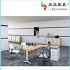 modern MDF office furniture desk/office desk specifications HL-03
