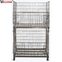 workshop steel wire mesh basket pallet