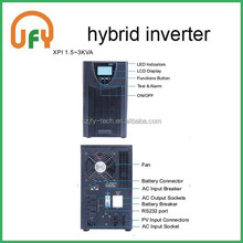 Pure sine wave inverter/charger, hybrid solar power, PV/ AC input supporting