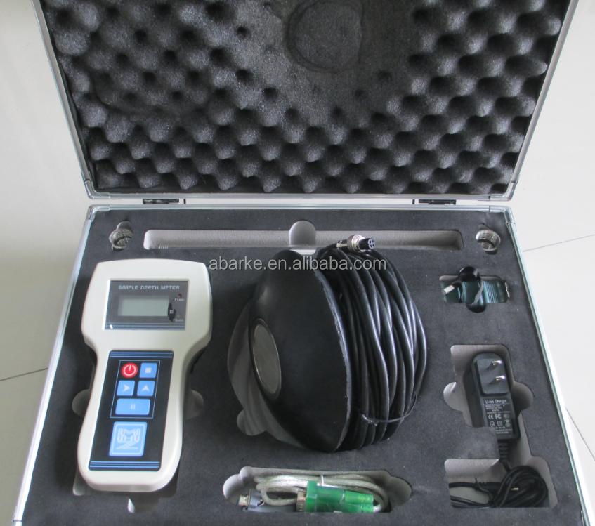 200 m ultrasons echo sondeur portable ultrasons echo sondeur compteur pour la p che instruments. Black Bedroom Furniture Sets. Home Design Ideas