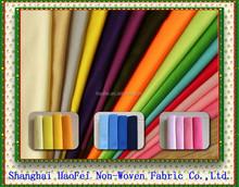 Colored Needle-Felt, Needle punched polyester felt