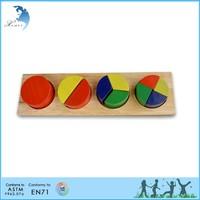 Hot sale wholesale EN 71 kindergarten montessori adult wooden intelligent toys