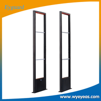 eas rf supermarket security antenna , 8.2mhz rf detection system gate