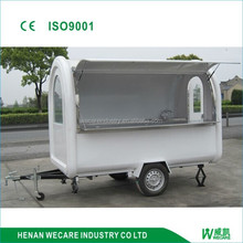 WK280 factory price outdoor mobile food van/food car