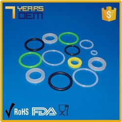 Cheap price customized silicone O ring and silicone rubber seals