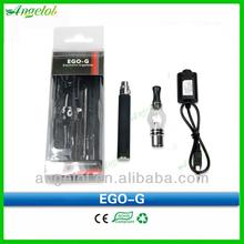 2014 nuevo cigarrillo electrónico ego g con globos terráqueos atomizador