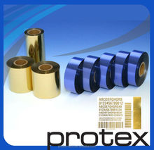 Intermec printer ribbon on thermal paper ink outside ribbon with heat resistance