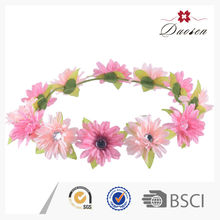 Pretty Bsci Certificate String Flower Crystal Garland Strands
