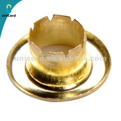 High Quality Brass Golden Mesh Eyelet with Washers for Garment Clothing
