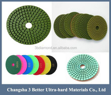 diamond hand polishing pads for concrete countertops