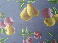 linen and linen cotton printed fabric