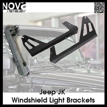 Factory Price Car Accessory Off-road Led Light Bar Bracket Work Light Mount