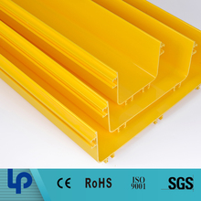low price plastic cable duct pvc floor trunking china manufacturer (SGS TUV SGS)