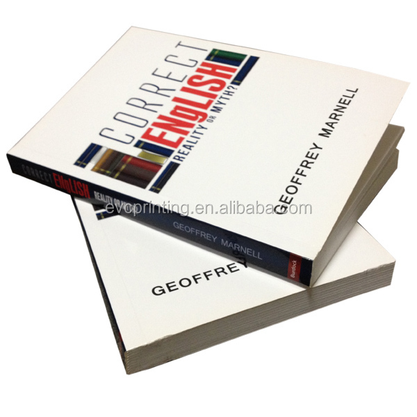 perfect bound novel paperback softcover book printing buy