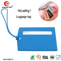 2014 good market airplane luggage tag DongGuan supplier