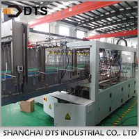 Automatic wrapping machine for white spirit packing