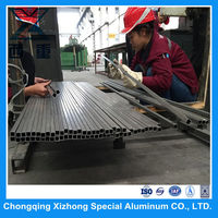 Cold drawn Aluminum Square Hollow Tube 2A12 T4