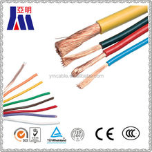 Electric copper conductor wire shield wire