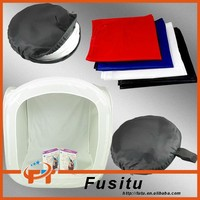 "20"" 50x50cm photo studio light tent soft box shooting cubeLight Softbox Cube Box Kit + 4 Backdrops"