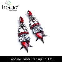 Wholesale 2015 Fashion gold earrings 2012 new design