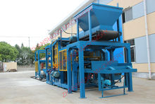 Brick Machines Factory with Finished Block System ZS-QT4-15 in Shanghai
