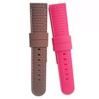 High quality custome Watch strap with rubber silicone