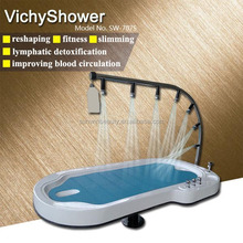 New trending spa equipment showers massage table for body massage SW-707S