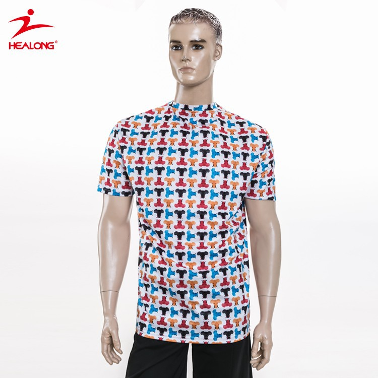 Healong dye sublimated youth mens cool t shirt buy mens cool sublimation t shirts sublimation for Dye sublimation t shirt