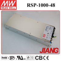 1000W 48V DC Switching Power Supply Meanwell RSP-1000-48 Switch Power Supply CB UL EMC