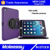 Unique customize hybrid drop resistance leather case flip cover for iPad mini 4