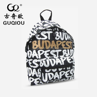 Supply High Quality Canvas Leather Backpack