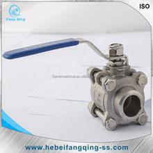 ss 316 ss 304 extended long stem ball valve dn50