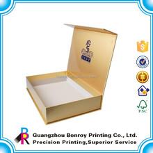 Cardboard made & printed storage box for tea