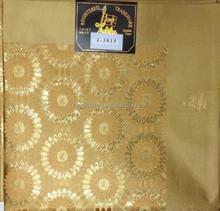 2015 african jubilee headtie/african sego gele/african headtie in gold color