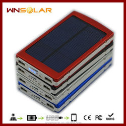 Universal 10000mAh Portable Solar Charger For Mobile Phone